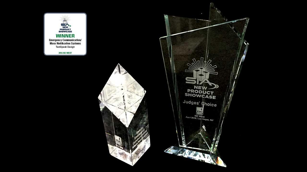 ISC West Best In Show Award