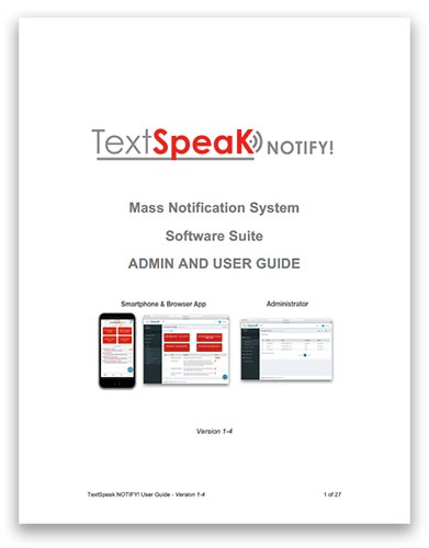 TextSpeak One-Box Software User Guide