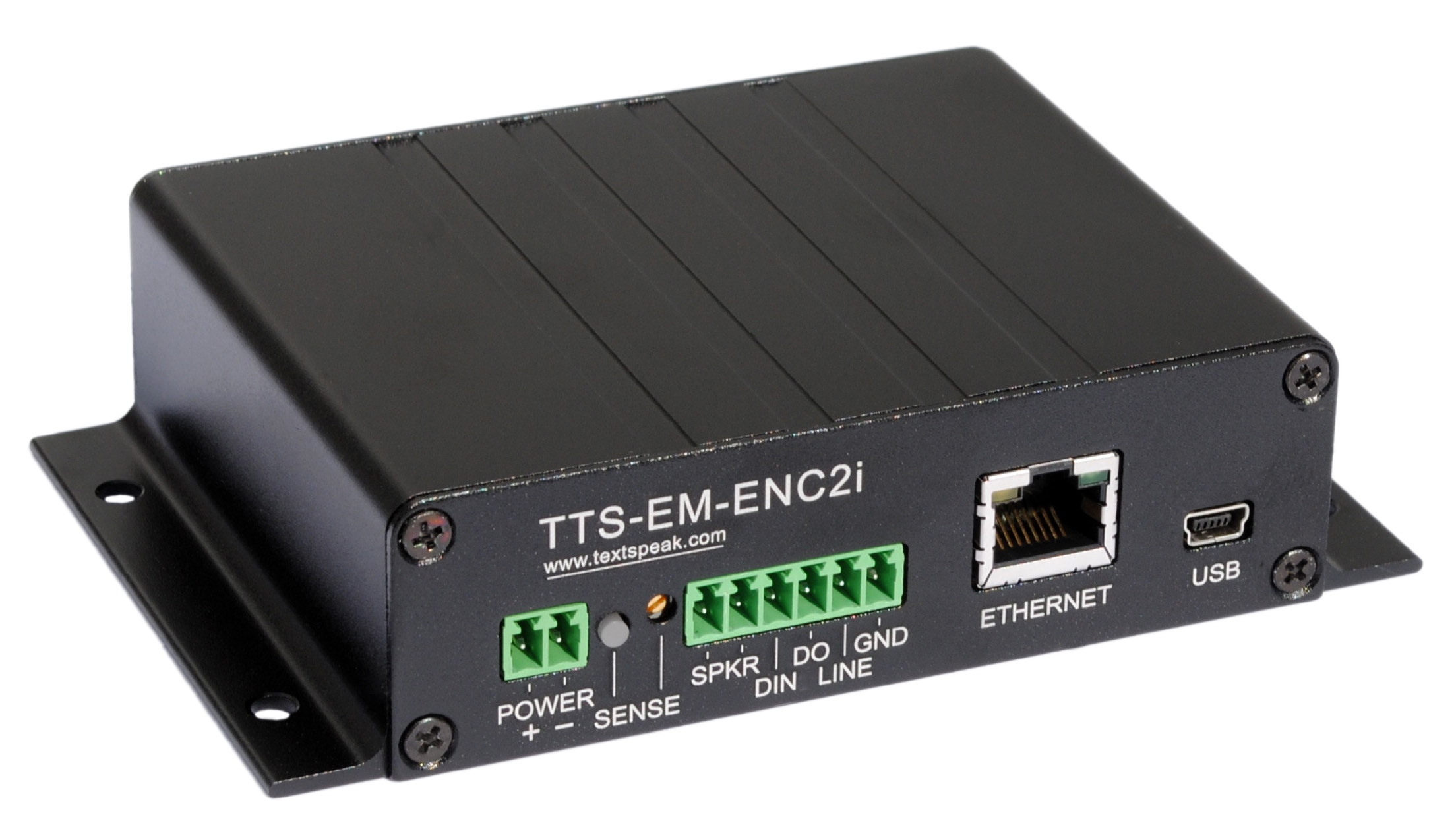 TextSpeak Device Ethernet Amplifier TTS-EN-E