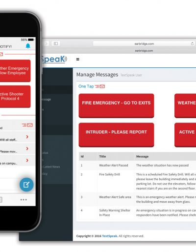 TextSpeak Notify! Smartphone and Browser Apps