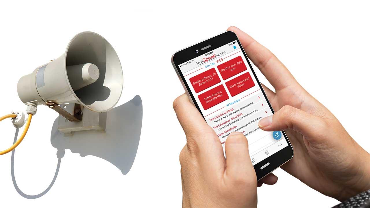 TextSpeak CE Mass Notification Amplifier